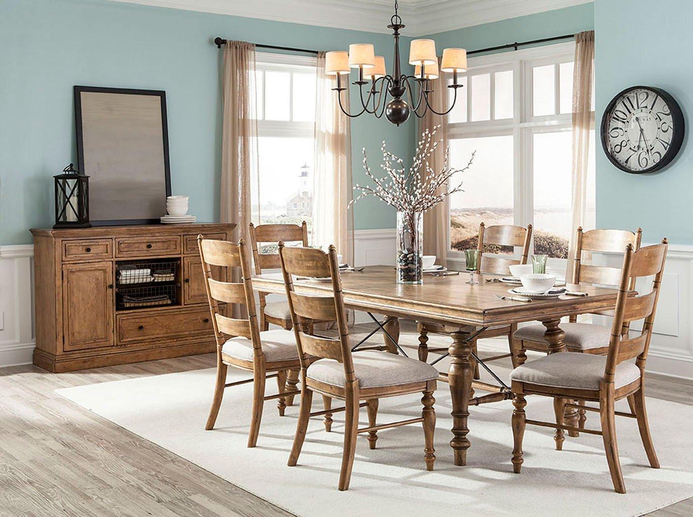Lake House Rectangular Dining Room Set