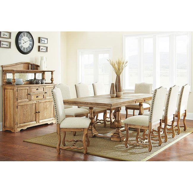 Plymouth Dining Room Set Steve Silver Furniture 2 Reviews Cart