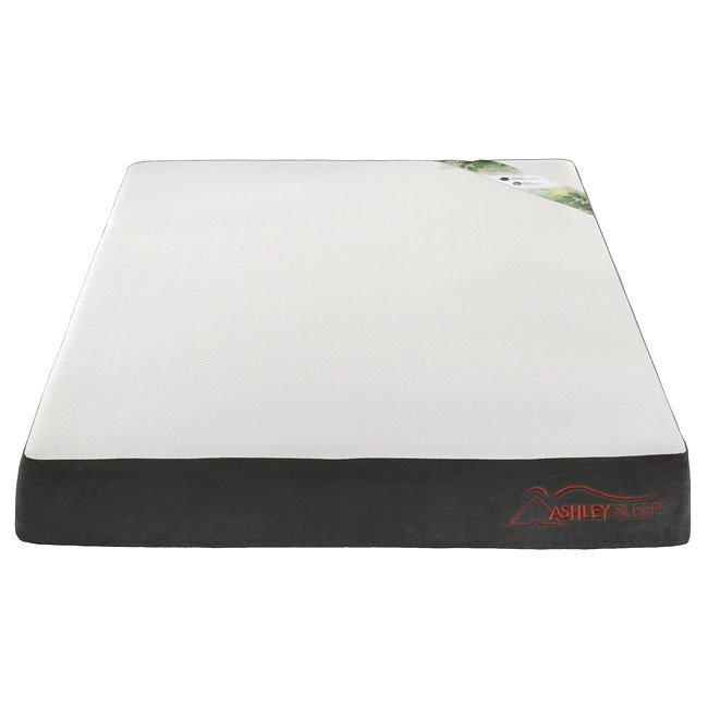 Augusta 8 Inch Memory Foam Mattress Ashley Sleep Furniture Cart