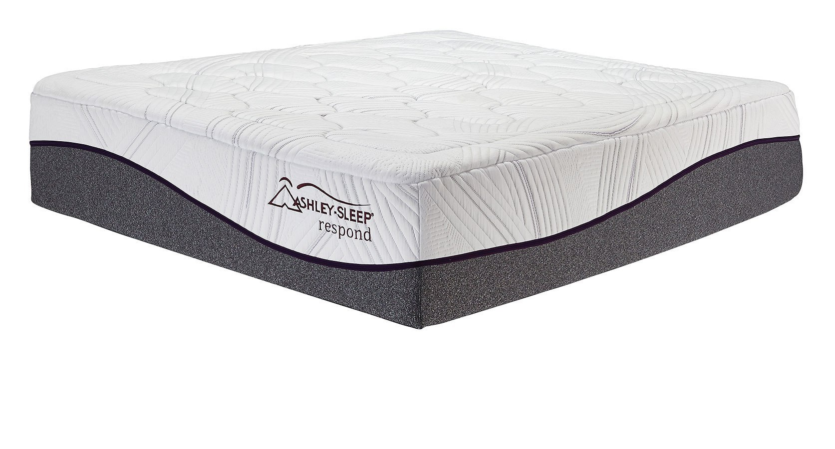 16 Inch Respond Series Memory Foam Mattress Ashley Sleep Furniture Cart