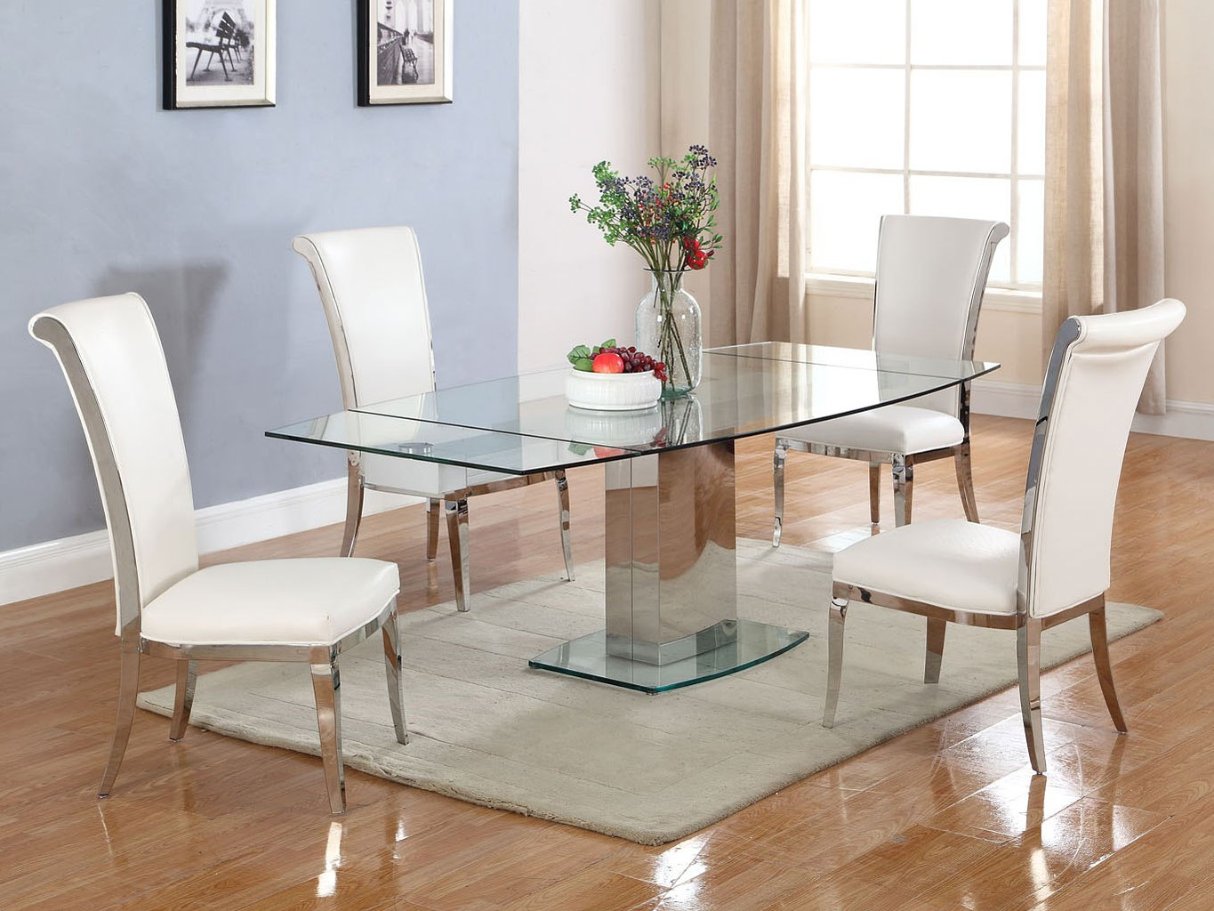 Mackenzie Dining Room Set W Joy Chairs Chintaly Imports