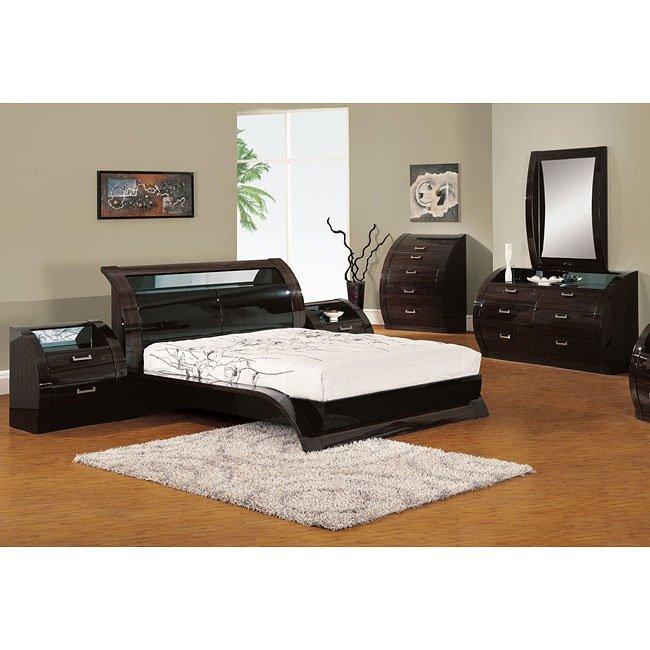 Madison Platform Bedroom Set Global Furniture | Furniture Cart