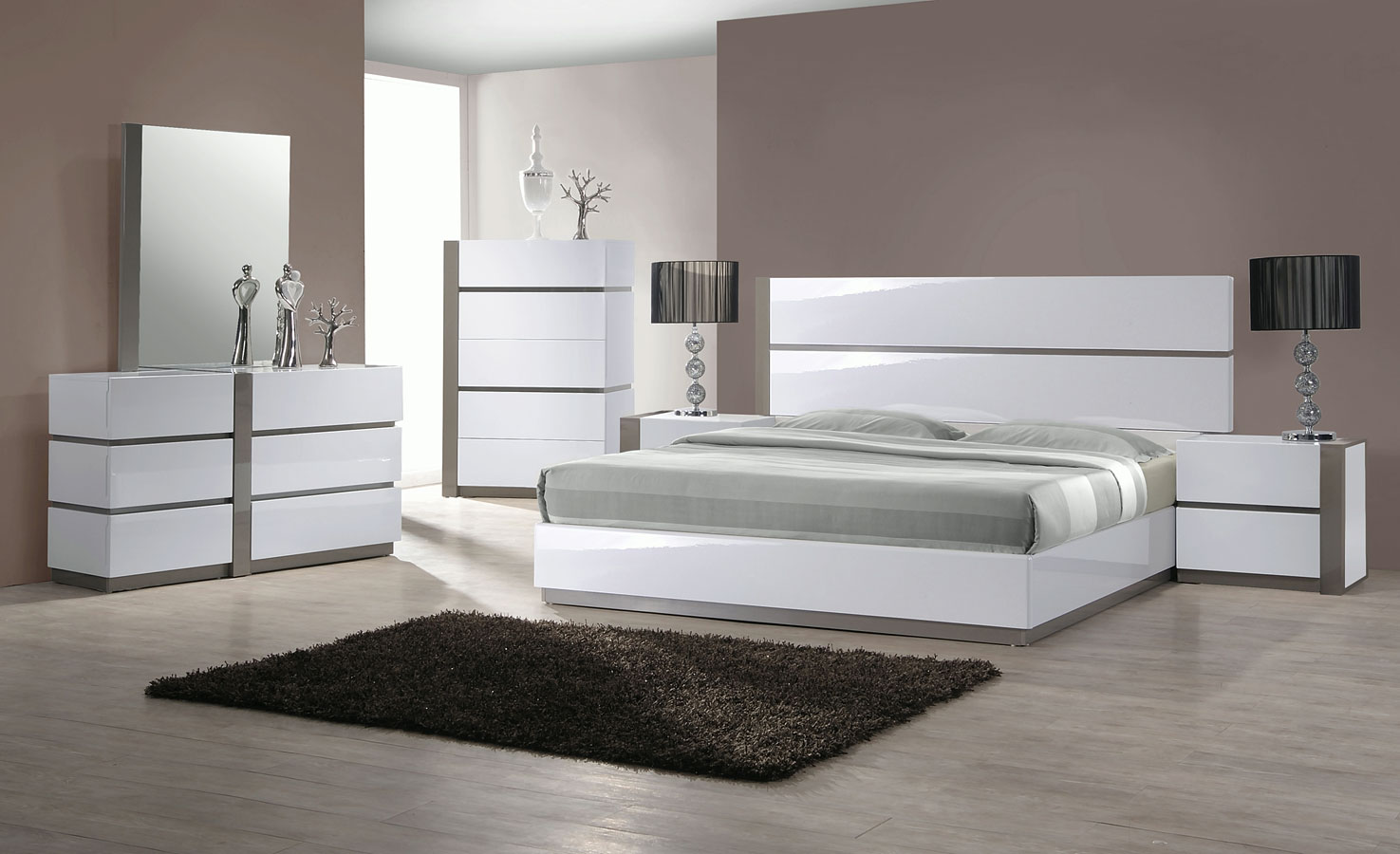 Charmant Manila Platform Bedroom Set