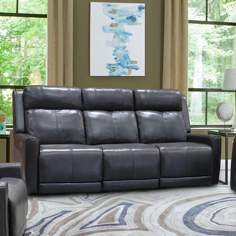 Ashley Furniture Flagstaff: Cabo Power Reclining Sofa W/ Power Headrests (Flagstaff