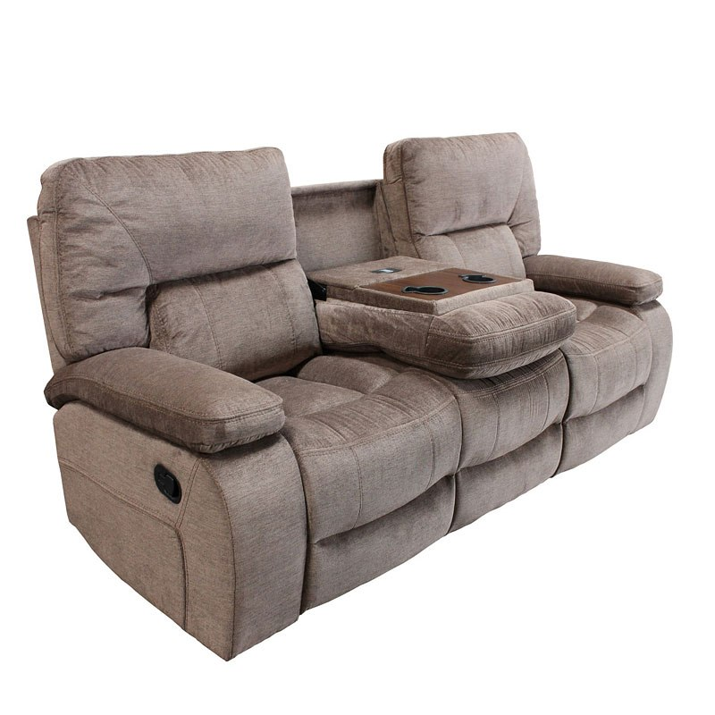 Chapman Dual Reclining Sofa W Drop Down Console Kona Parker Living Furniture Cart