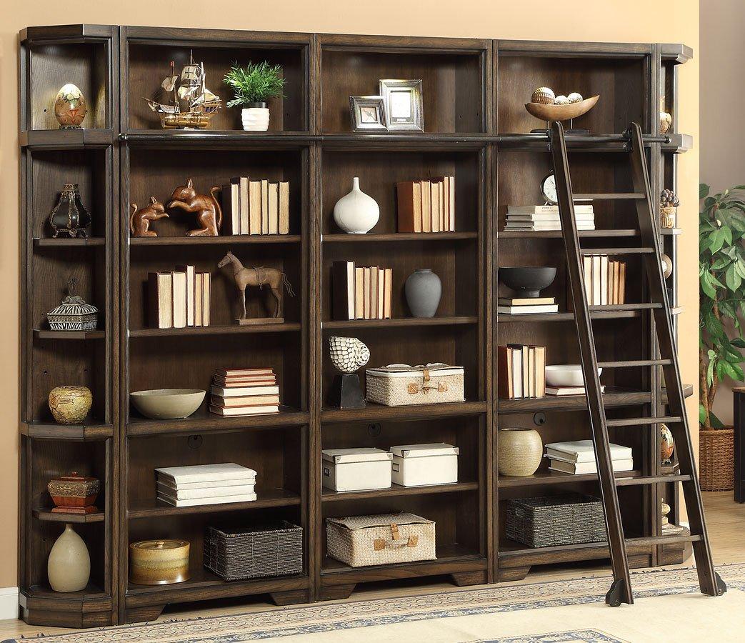Meridien Modular Open Bookcase Wall Parker House