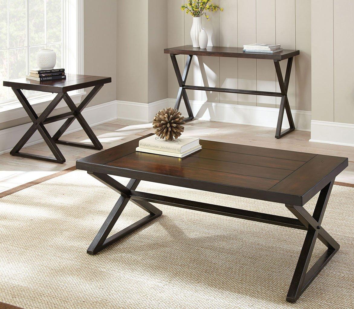 Outdoor Patio Furniture Omaha Ne: Omaha Occasional Table Set Steve Silver Furniture