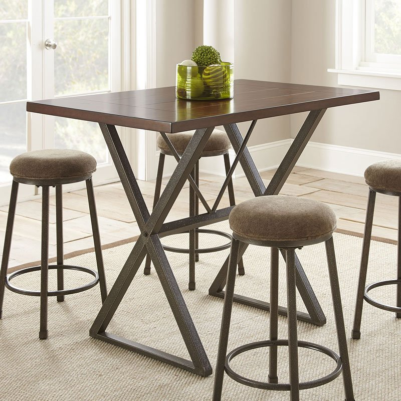 Kitchen Table Omaha: Omaha Counter Height Table Steve Silver Furniture