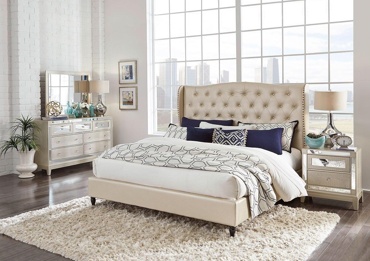 Upholstered Bed Set
