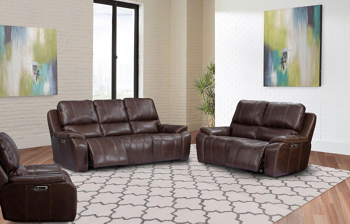 potter power reclining living room set w power headrests. Black Bedroom Furniture Sets. Home Design Ideas