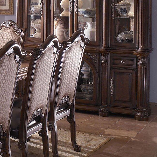 Monte Carlo Ii Dining Room Set Cafe Noir Aico Furniture