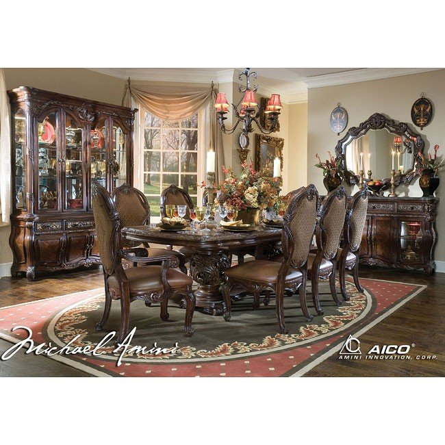 Essex Manor Dining Room Set Aico Furniture Furniture Cart