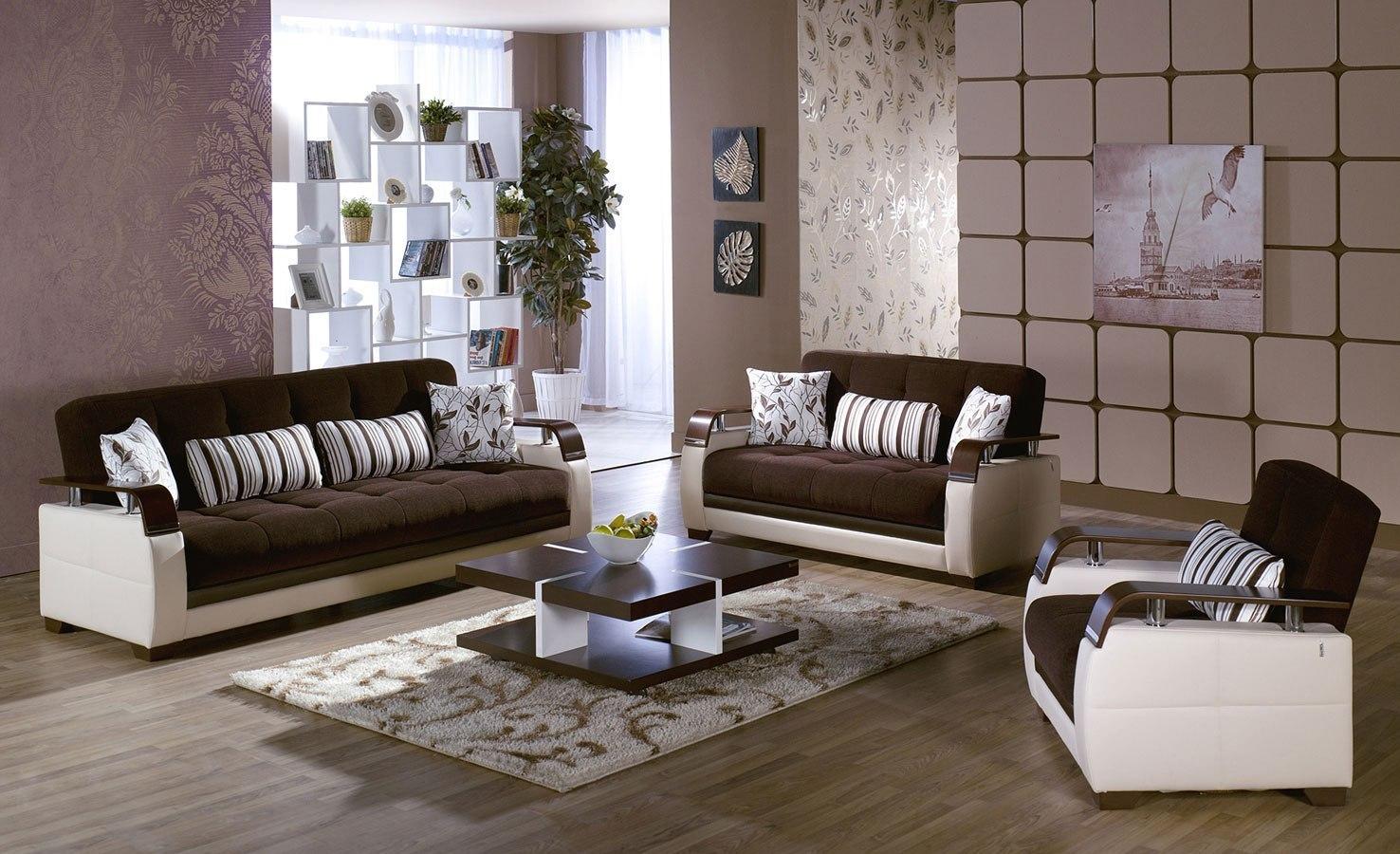 Natural Living Room Set Colins Brown Istikbal Furniture