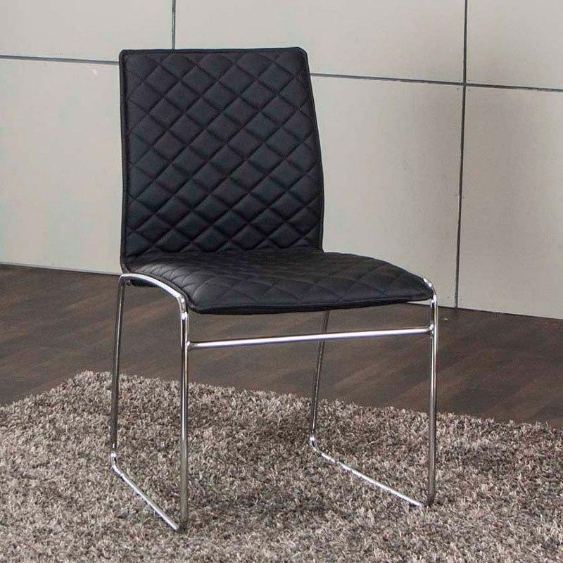 Regal Black Side Chair (Set of 4)