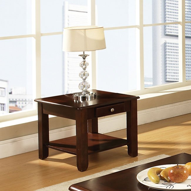 Nelson Occasional Table Set (Cherry) Steve Silver