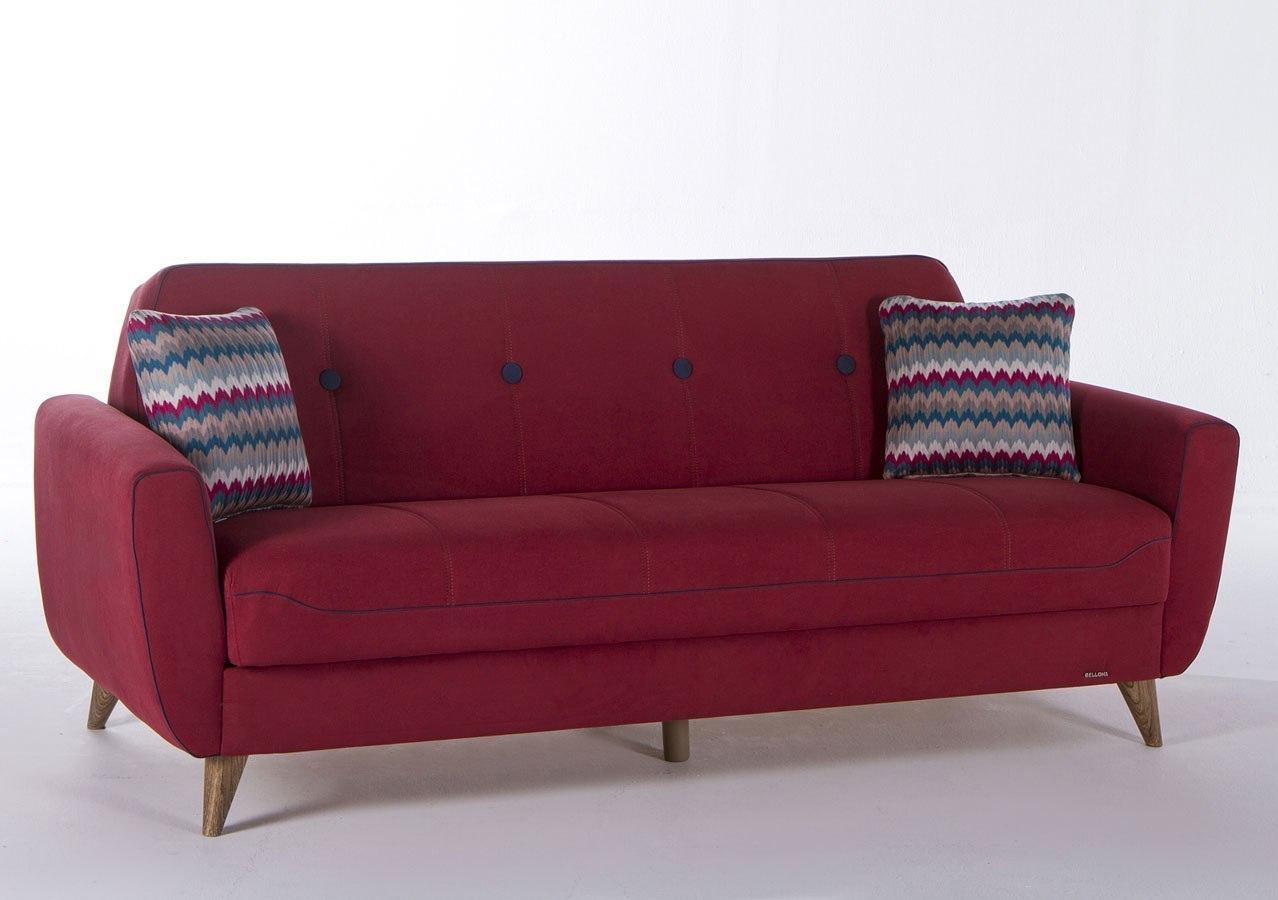 Nora 3 Seat Sleeper Zigana Marsala Istikbal Furniture