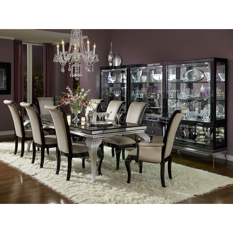 Hollywood Swank Starry Night Dining Room Set