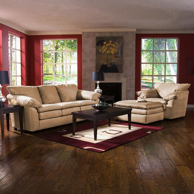 Heights Living Room Set (Libre Taupe)