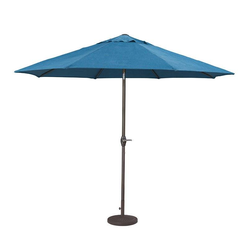 Nuvella Medium Auto Tilt Umbrella (Blue)