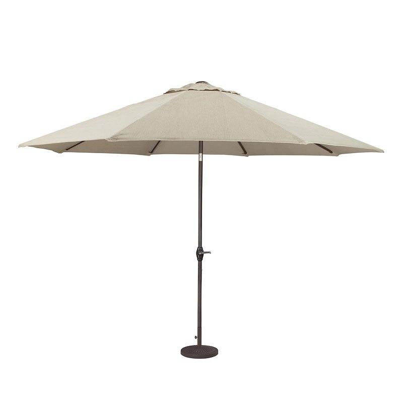 Nuvella Large Auto Tilt Umbrella (Beige)