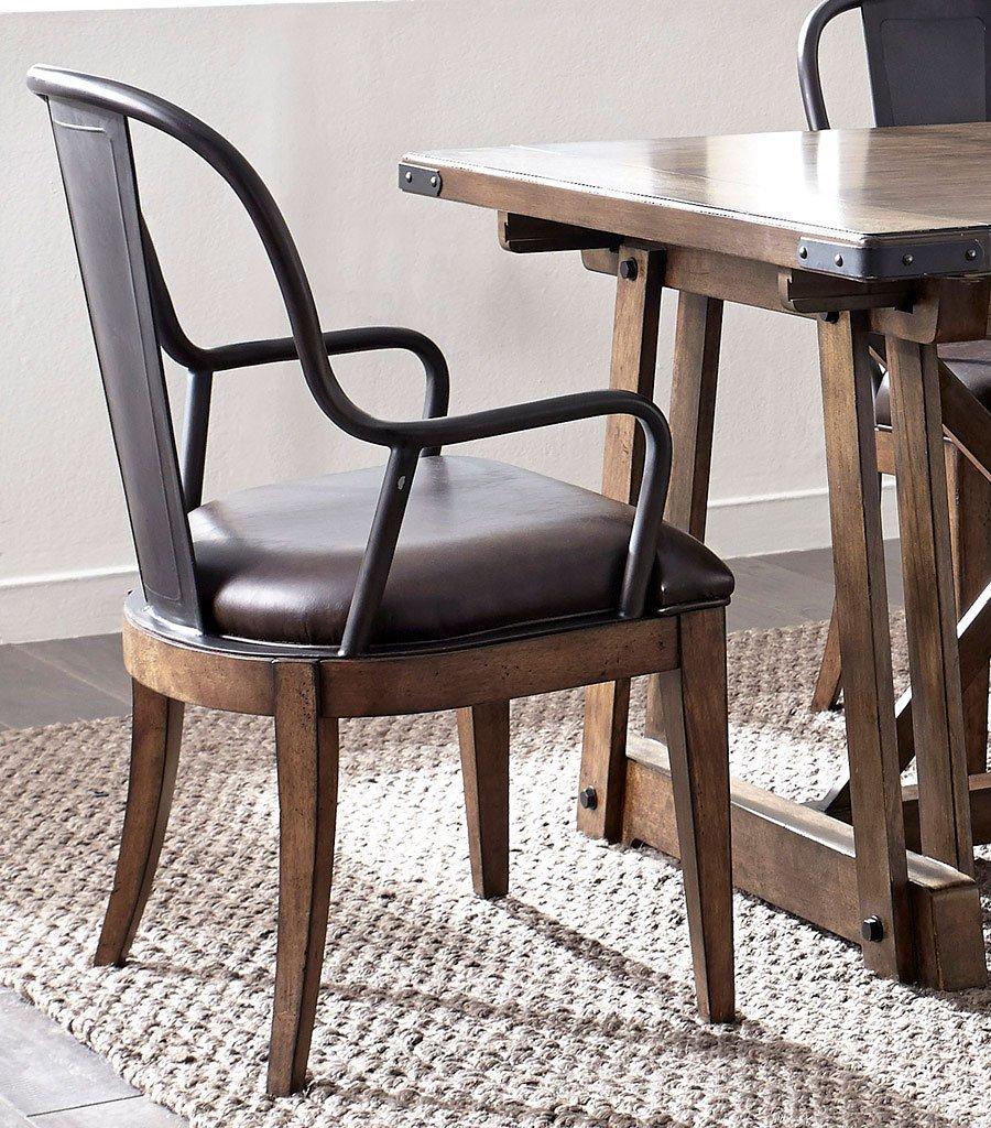 Weston Loft Arm Chair (Set Of 2) By Pulaski Furniture