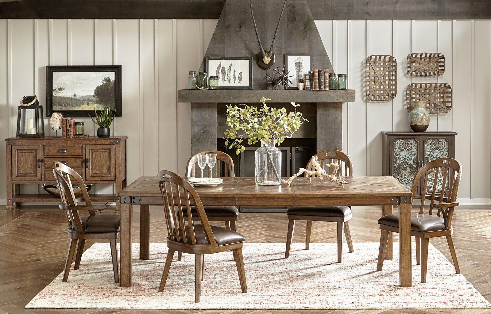 Heartland Falls Dining Room Set w/ Windsor Chairs