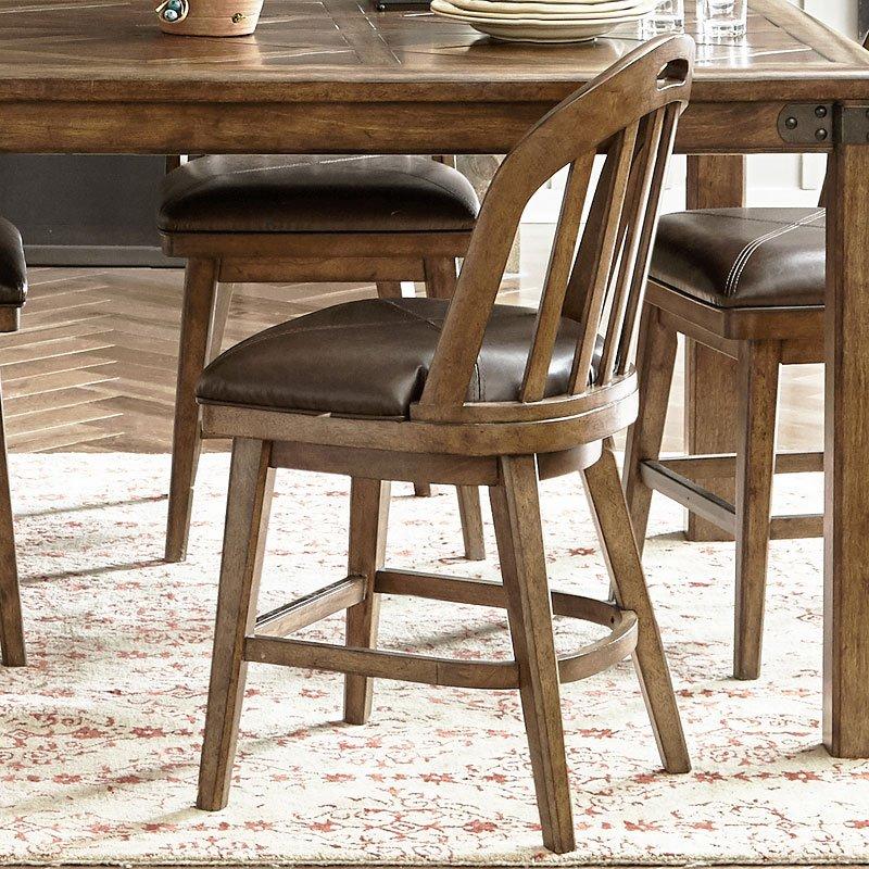 Heartland Falls Windsor Counter Chair (Set of 2)
