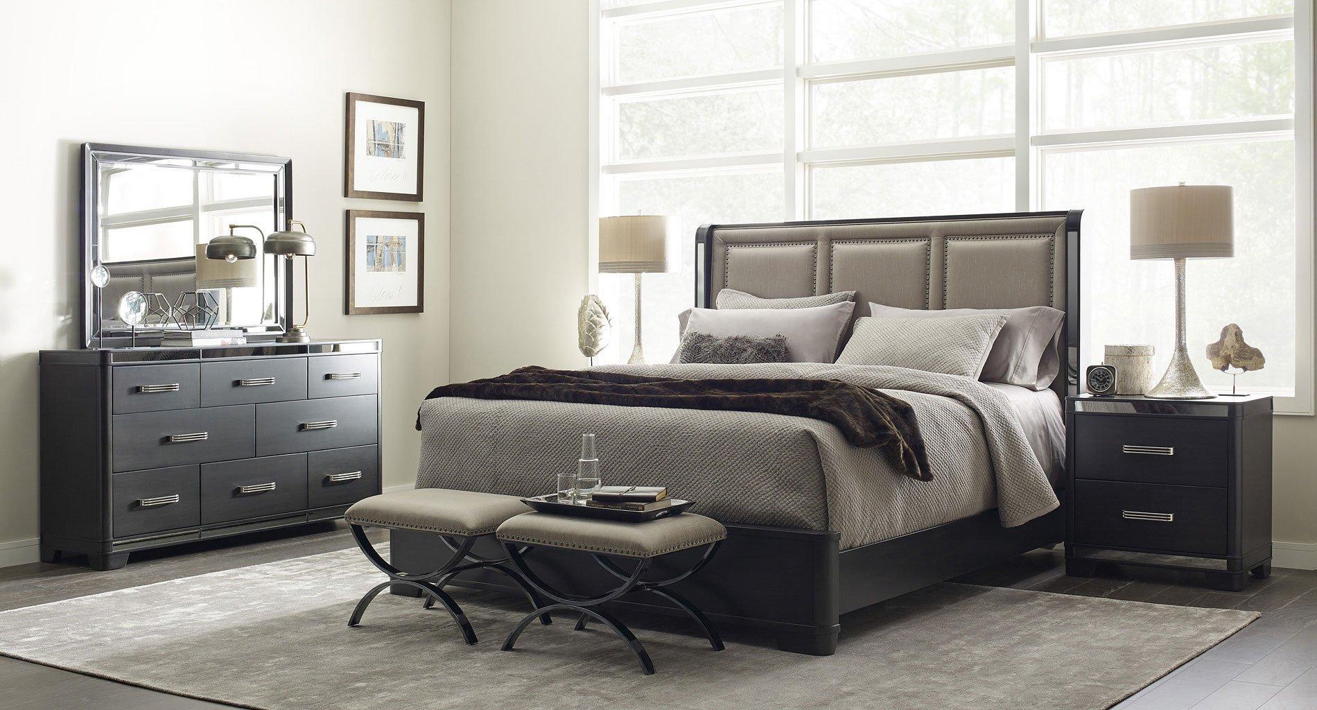 Silverton Sound Platform Bedroom Set Pulaski Furniture