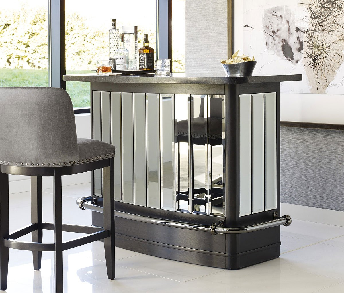 Silverton Sound Home Bar Set Pulaski Furniture