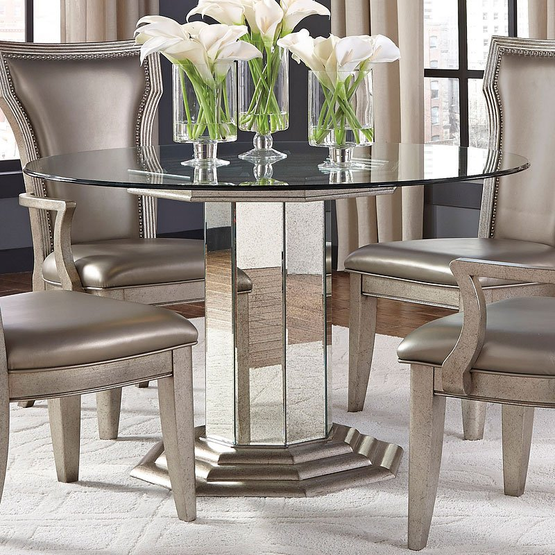 Pulaski Dining Room: Couture Round Dining Room Set Pulaski Furniture, 1 Reviews
