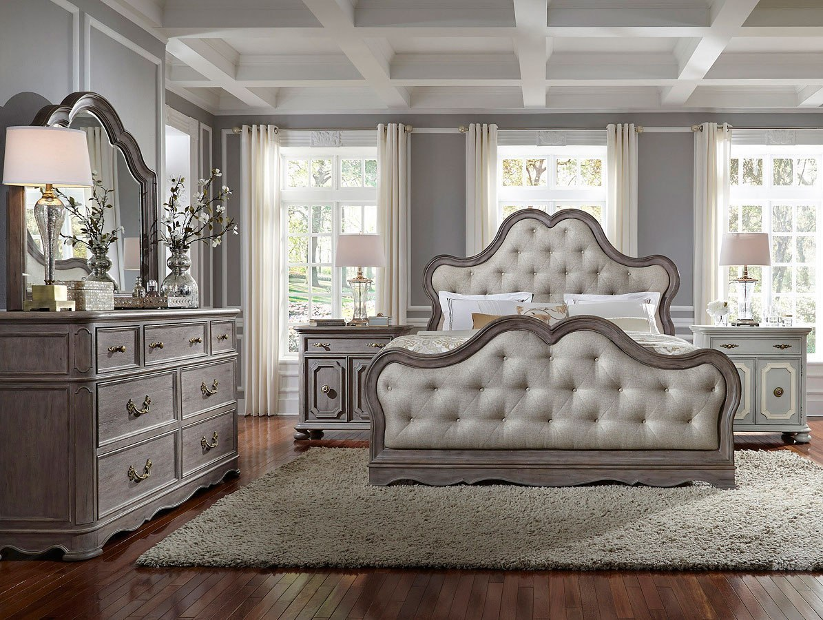 charming teen girl bedroom sets | Simply Charming Upholstered Bedroom Set Pulaski Furniture ...