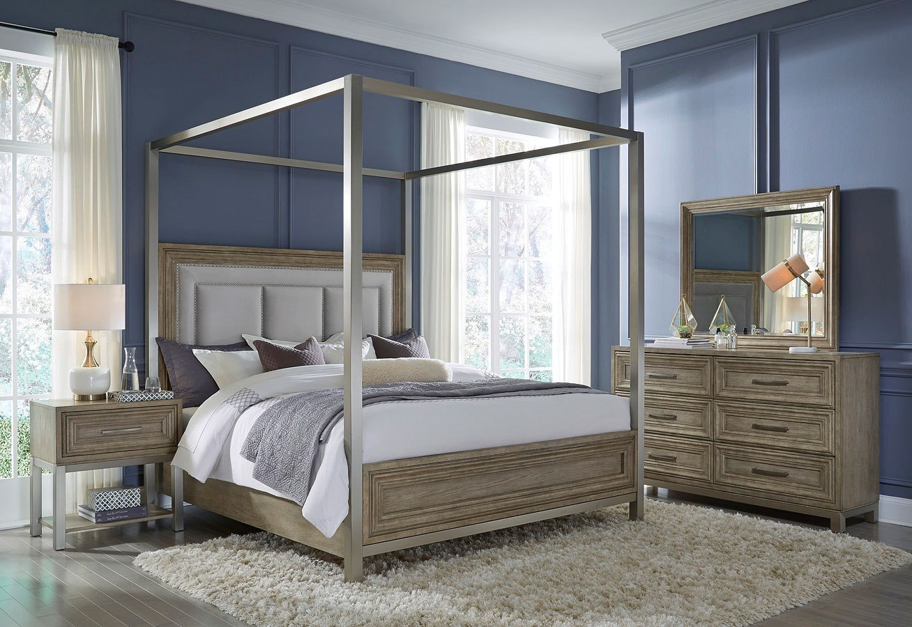 Park Place Canopy Bedroom Set