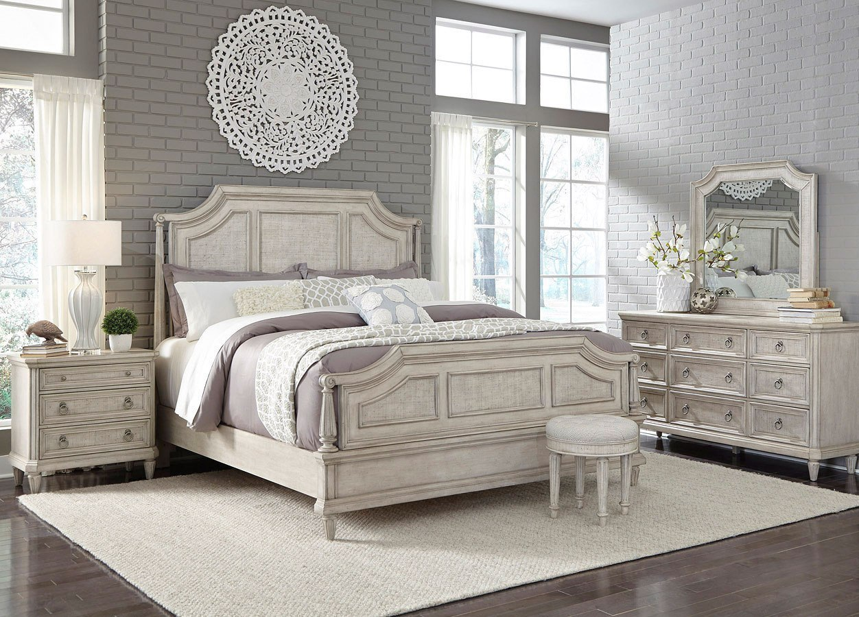 Campbell Street Panel Bedroom Set Pulaski Furniture Furniture Cart