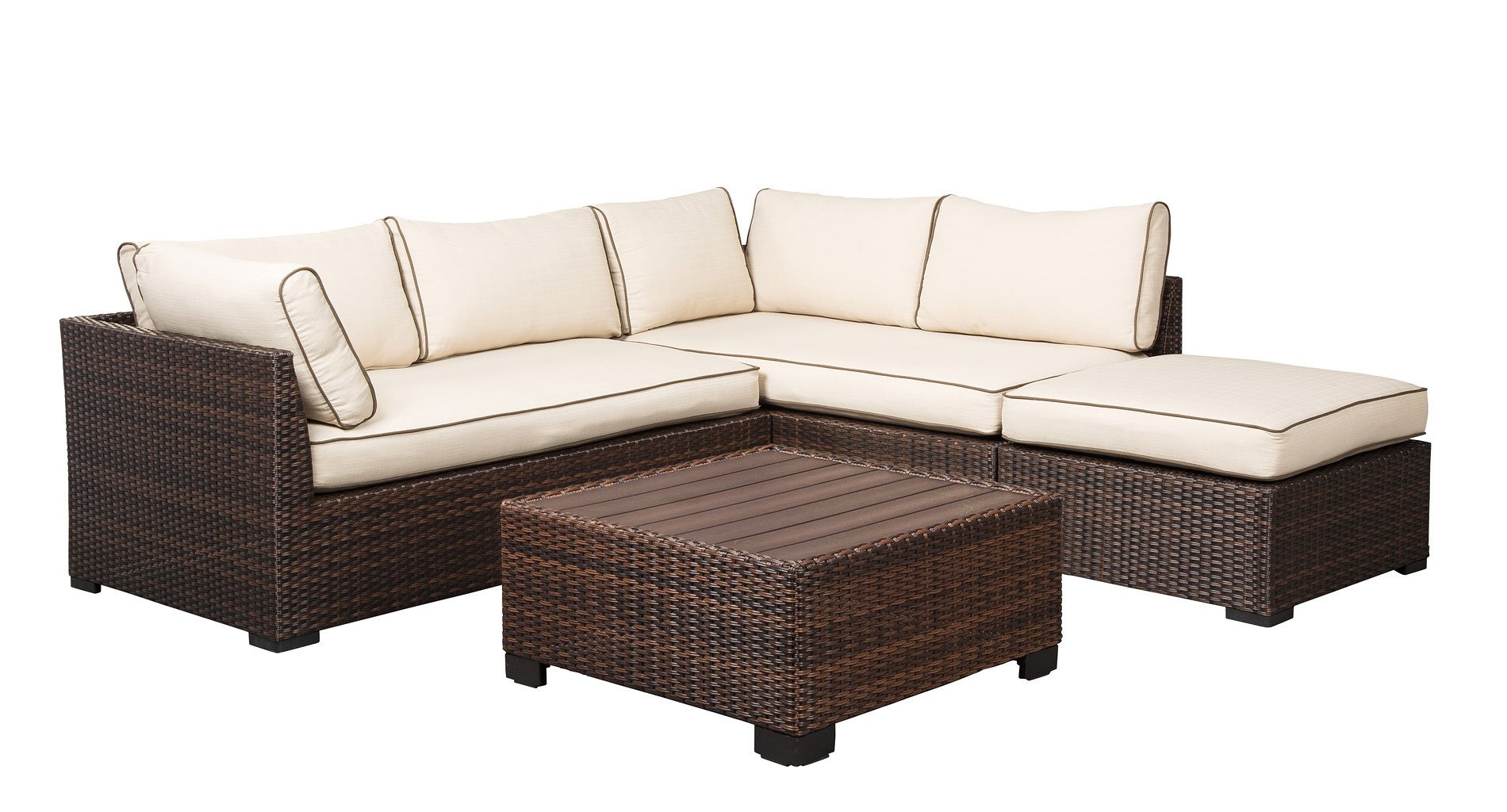 Loughran 4 Piece Outdoor Sectional Set Signature Design 2 Reviews