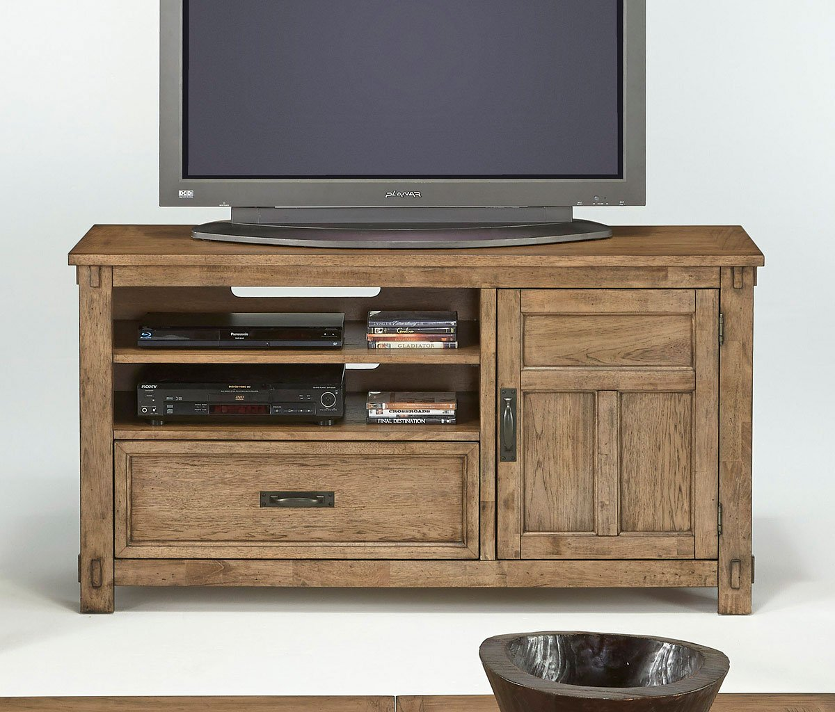 Boulder Creek Media Console Progressive Furniture
