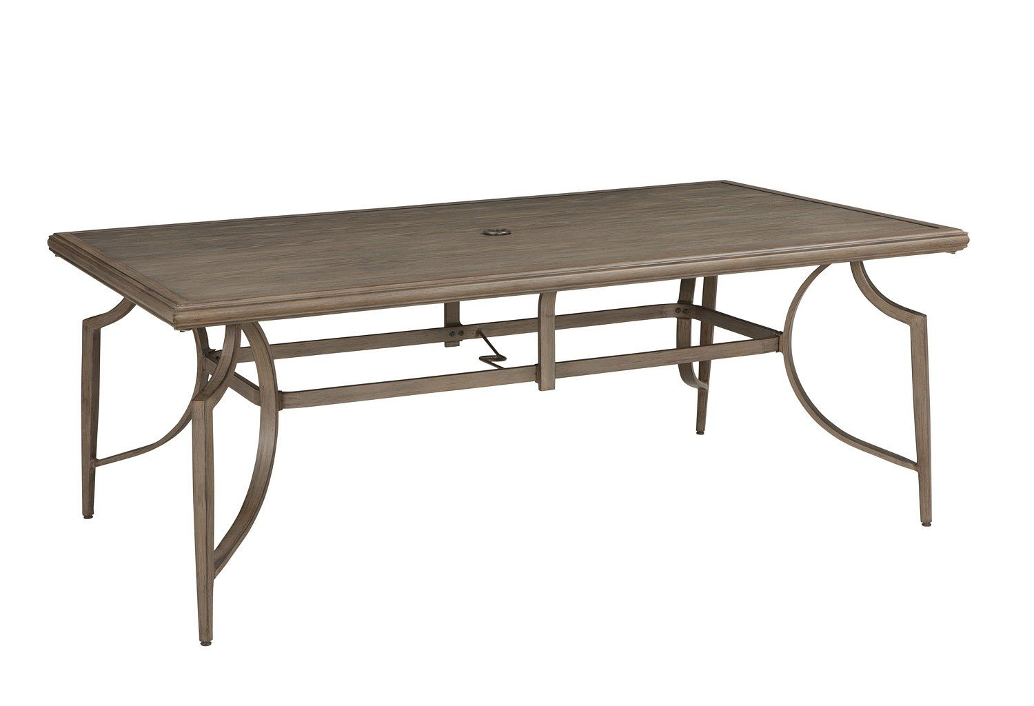 Partanna Outdoor Dining Table w/ Umbrella Option