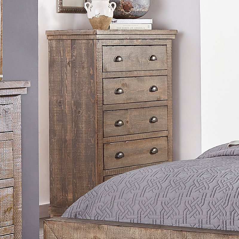 Willow Chest Weathered Grey