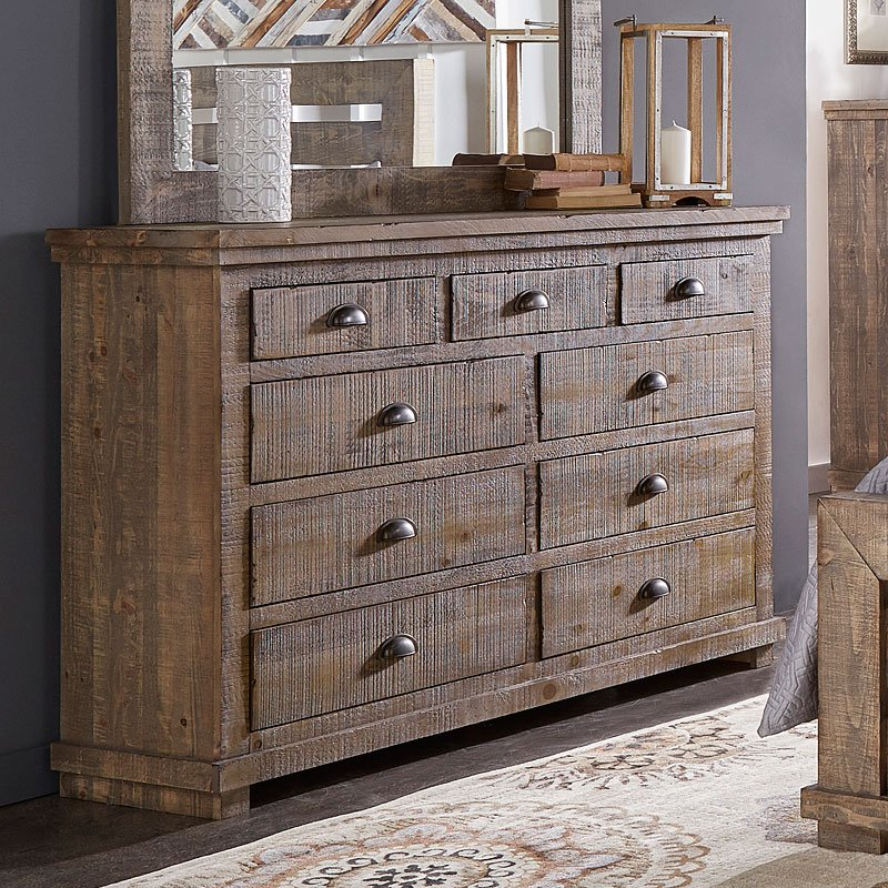 Willow Dresser (Weathered Grey)