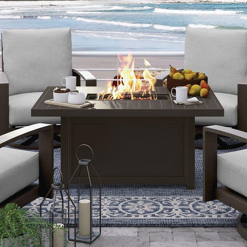 Cordova Reef Outdoor Fire Pit Table Signature Design