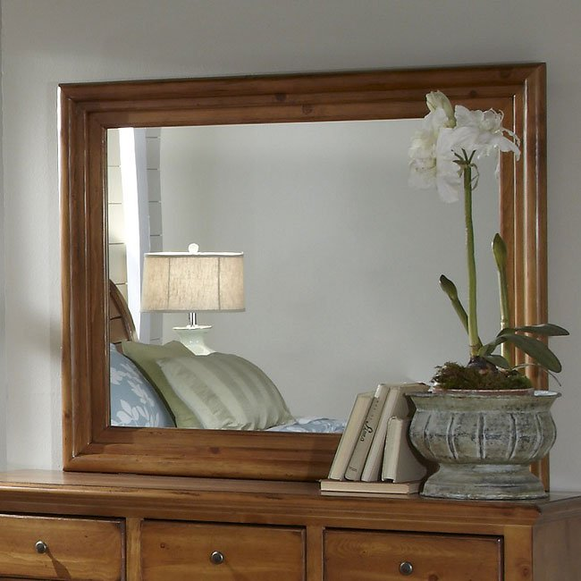 Napa Valley Bedroom Set (Antique Pine) Progressive ...