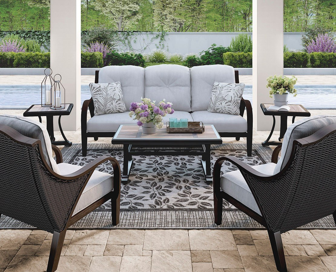 Marsh Creek Outdoor Occasional Table