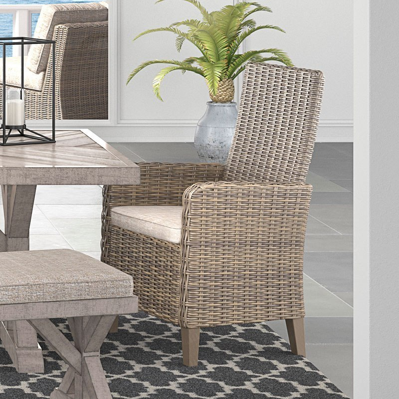 Beachcroft Outdoor Arm Chair (Set of 2)