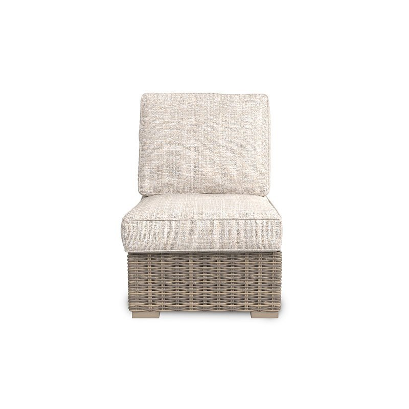 Beachcroft Outdoor Armless Chair By Signature Design