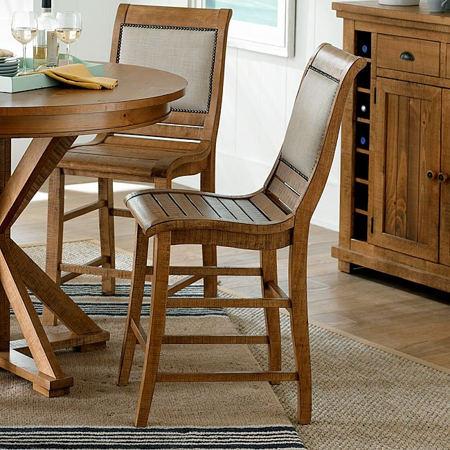 Willow Upholstered Counter Height Chair (Set Of 2