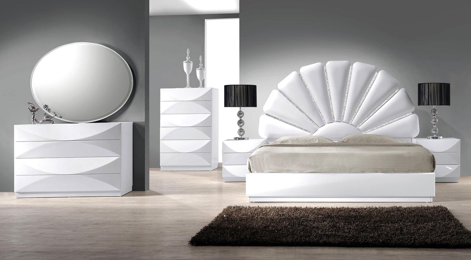 Paris Platform Bedroom Set Chintaly Imports Furniture Cart