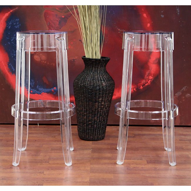 Bettino Acrylic Barstool (Set of 2)
