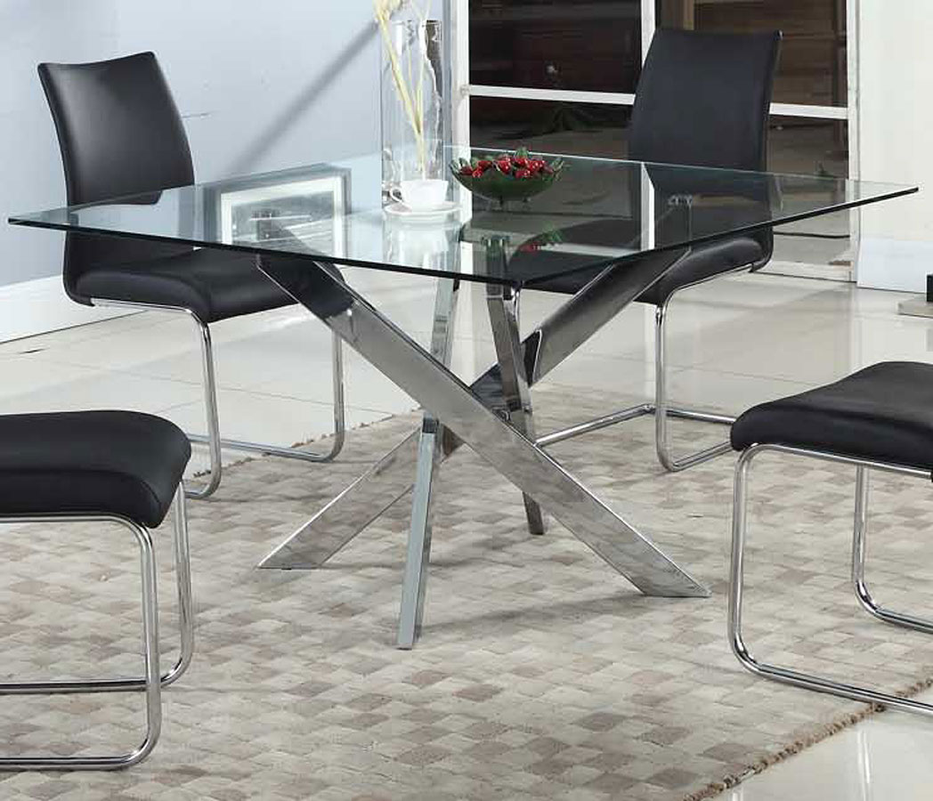 Pixie Square Dining Table Chintaly Imports Furniture Cart