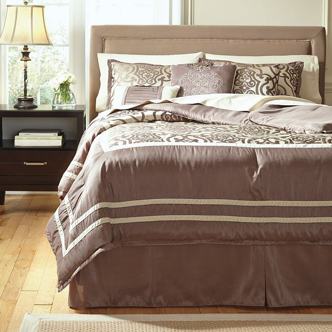 Baroque Fantastic Taupe Bedding Set