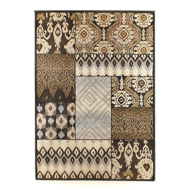 Tribal Quilt - Charcoal Medium Rug