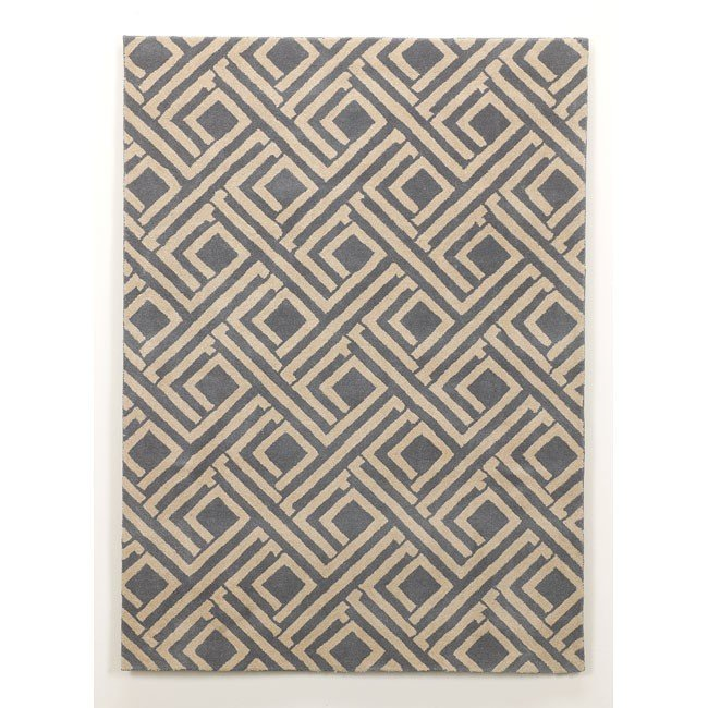 Nouveau - Teal Medium Rug